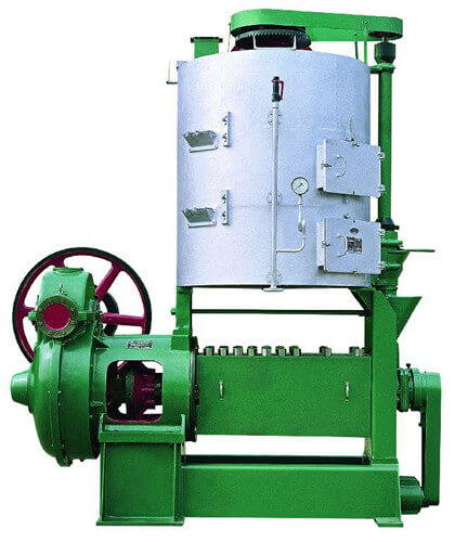 copra oil prepressing machine