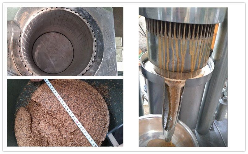 details of hydraulic oil extraction machine