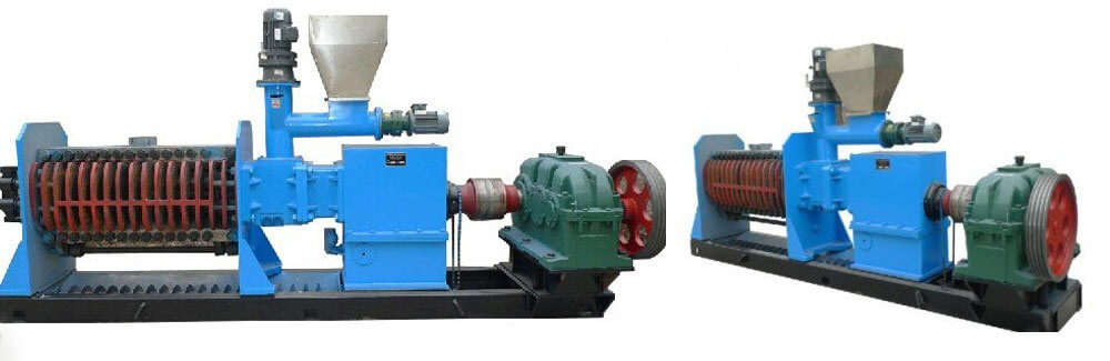 automatic screw palm kernel oil expeller-double shaft