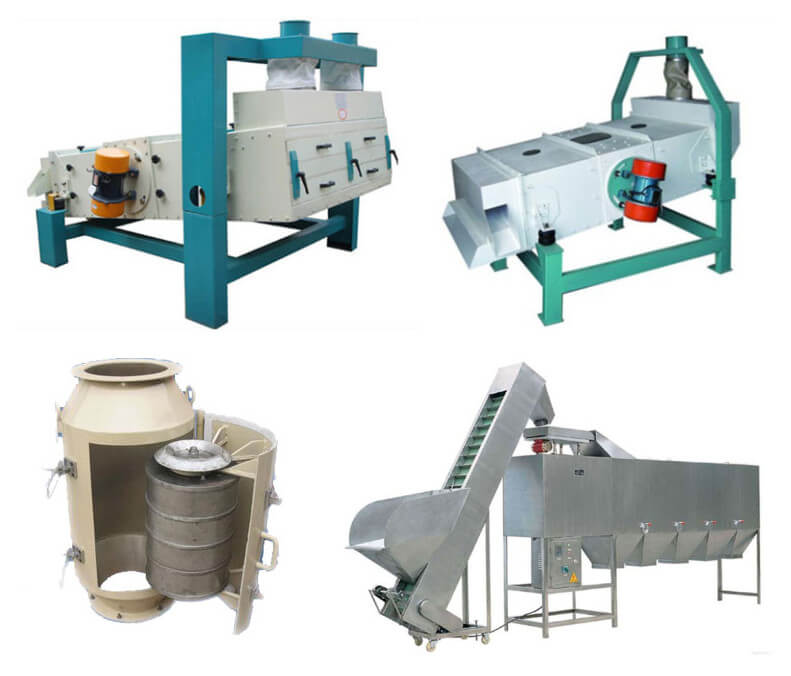oilseeds cleaning machines