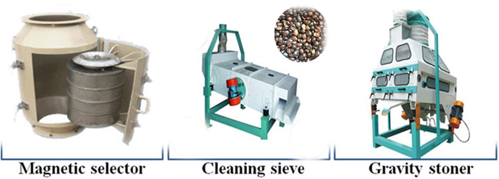 palm kernel cleaning equipment