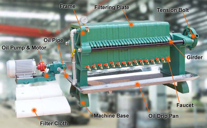 palm kernel oil filtration machine