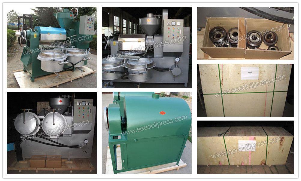 peanut oil press and peanut roasting machine to Bulgaria