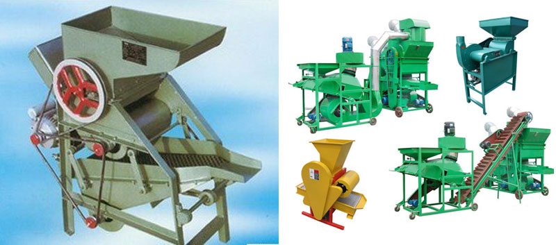 peanut shelling machines