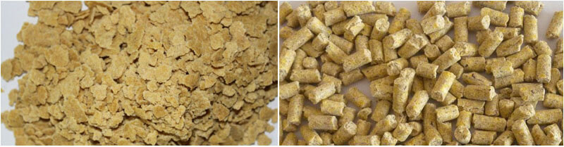 soybean oil cakes and feed pellets