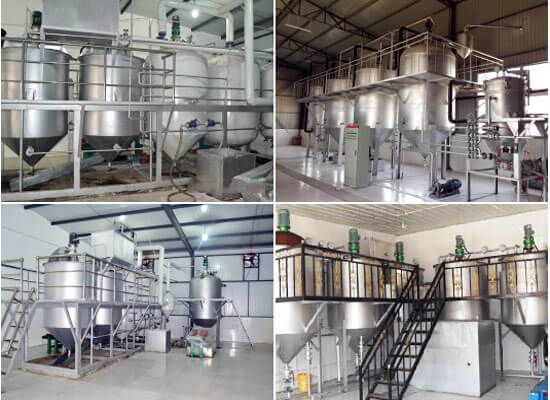 soybean oil refining plant