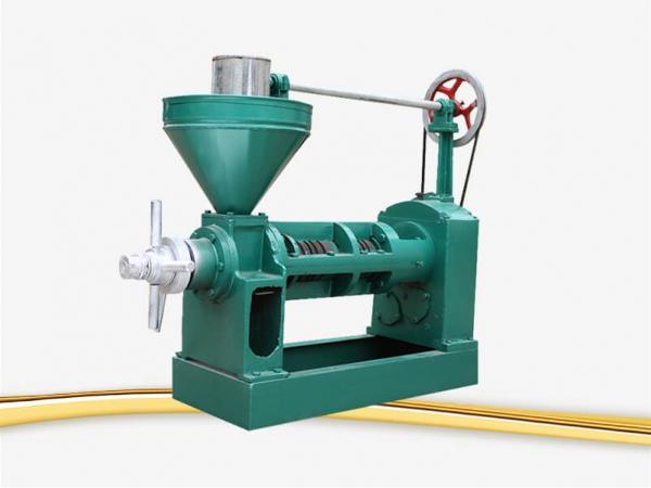 castor seed oil press