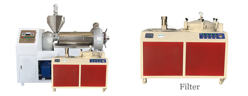 oilseed cold presser machine and its filter