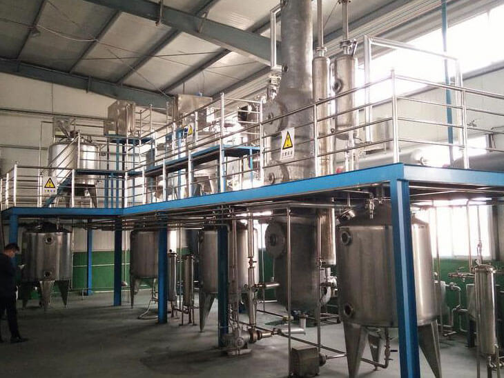 20 ton/day vegetable oil refining equipment
