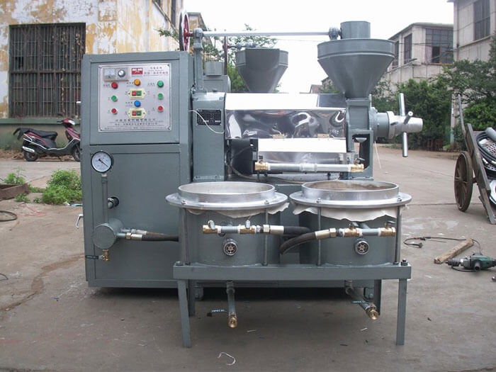 features of screw oil making machine