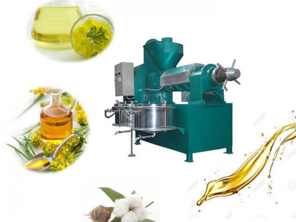 how to use oil press machine