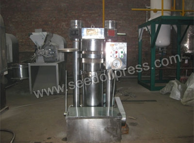 hydraulic oil press exported to Belgium