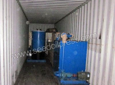 oil refining equipment