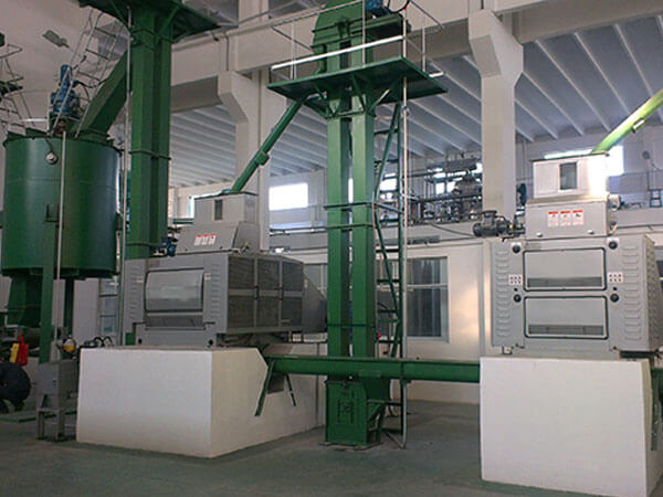 oilseeds preprocessing in oil production line