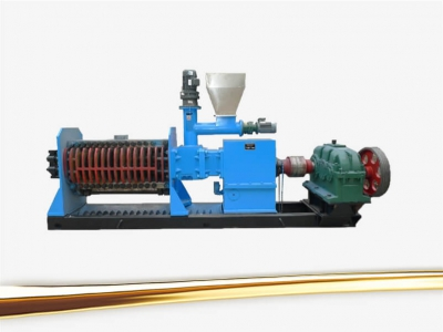 palm kernel oil expeller-cold oil press