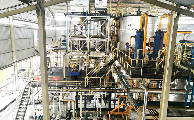 palm kernel oil pressing line