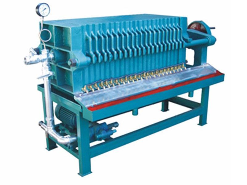 plate oil fliter machine