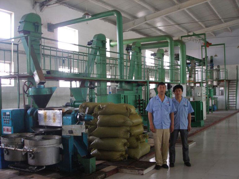 vegetable oil pressing line