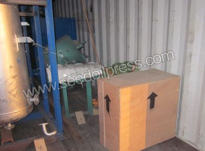 vegetable oil refining machine packing for Bulgaria