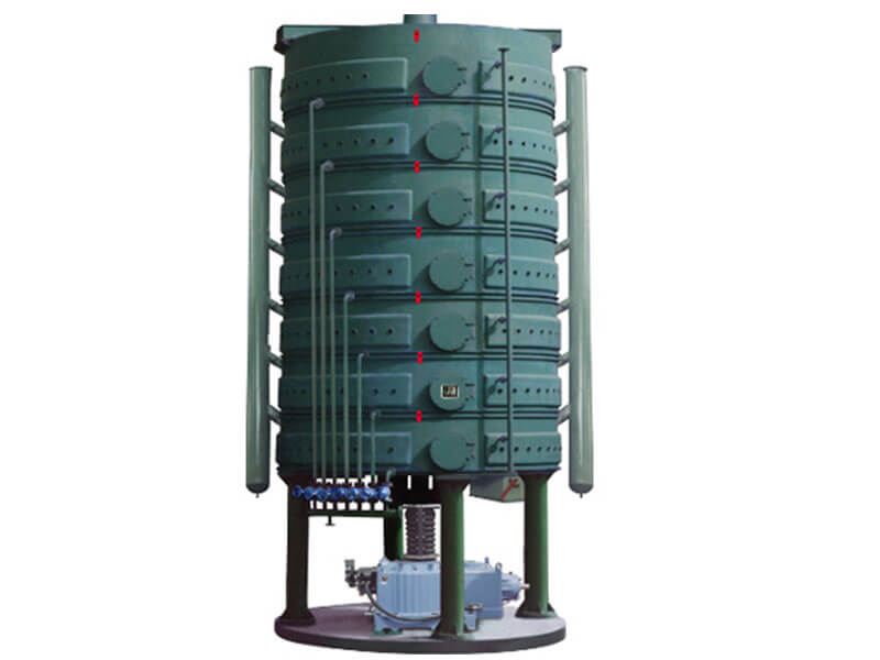 vertical oilseeds steam roasting machine
