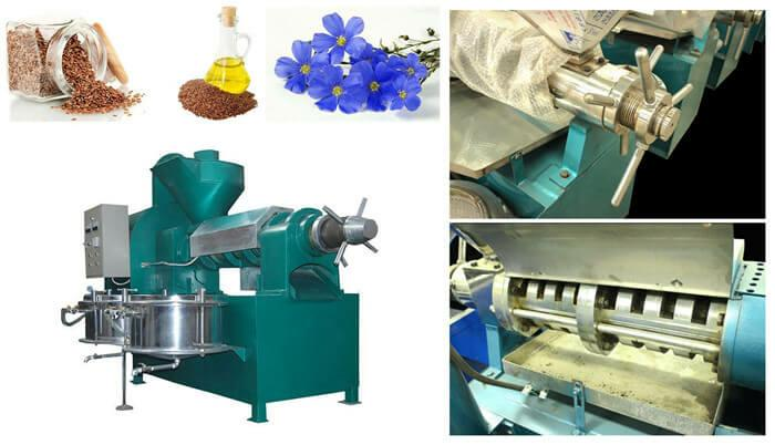 flaxseed oil press machine