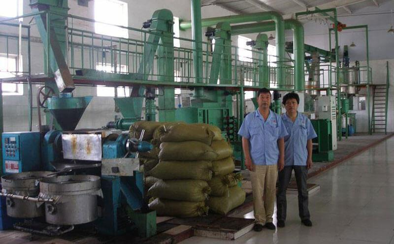 flaxseed oil pressing mill plant