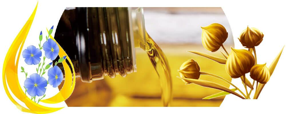low-temperature pressed flaxseed oil