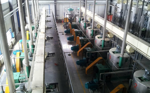 pressed soybean oil production line