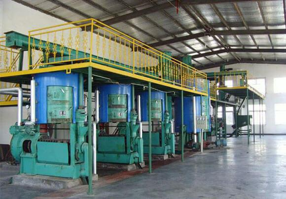 corn germ oil prepressing workshop machine