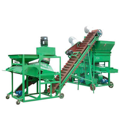 large scale peanut shelling machine