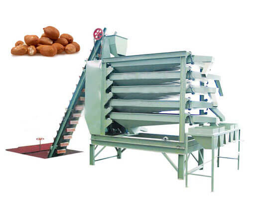 peanut grading machine