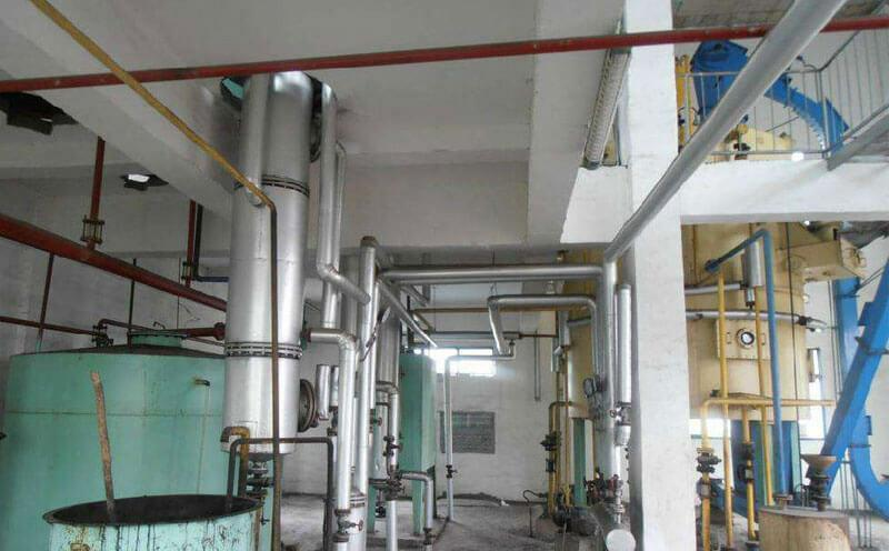 rice bran oil production line for sale