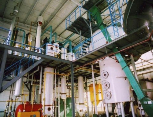 Corn Oil Extraction Plant