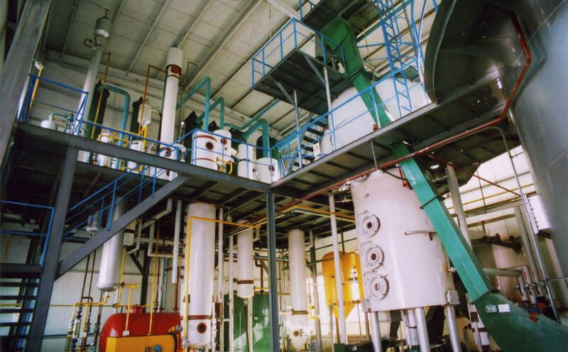 corn oil production line