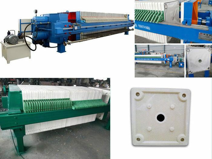 plate frame filtration machine