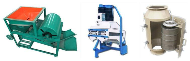 rapeseed selector, destoner, magnetic separator