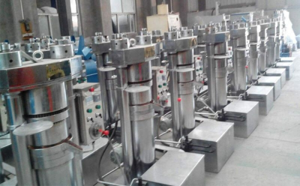 sesame oil pressing plant