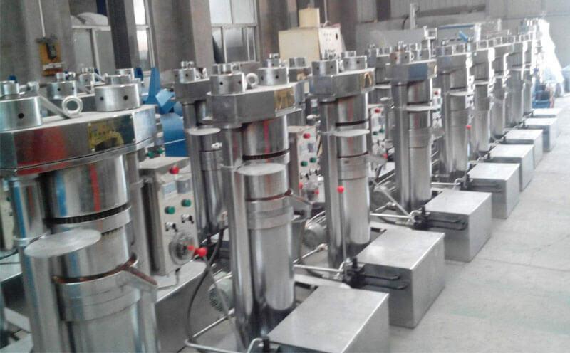 sesame oil pressing plant
