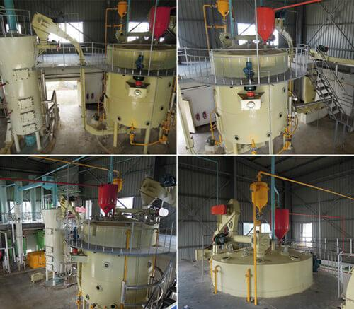 tea seed cake oil extractor machine