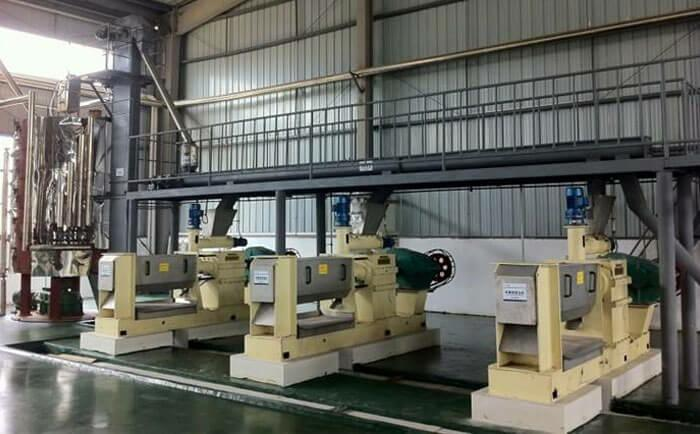 tea seed oil pressing machine line