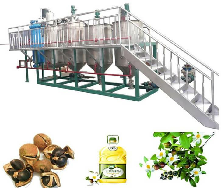 tea seed oil refinery equipment